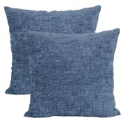 Mainstays Chenille Decorative Throw Pillow 18 X Navy