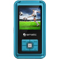 "Ematic 1.8"" 8GB MP3/Video Player with Voice Recording & Radio"