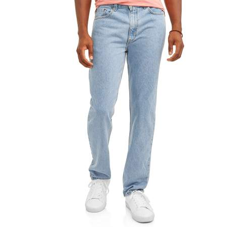 George Men's Regular Fit Jean (Stonewashed Denim Pant Set)