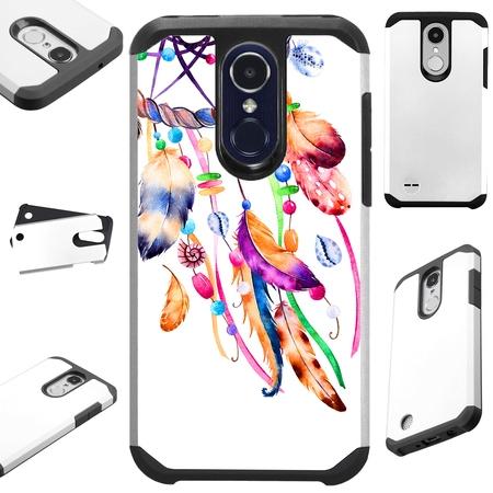 - For LG K20 Plus V5 | Harmony | Grace | K10 (2017) | K20 V Case Hybrid TPU Fusion Phone Cover (Dreamcatcher Flying)