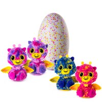 Hatchimals Surprise, Giraven, Hatching Egg with Surprise Twin Interactive Hatchimal Creatures by Spin Master