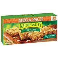 (2 pack) Nature Valley Oats 'N Honey Crunchy Granola Bars, 26.82 oz