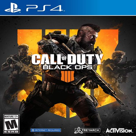 - Call of Duty: Black Ops 4, Activision, PlayStation 4, 047875882256