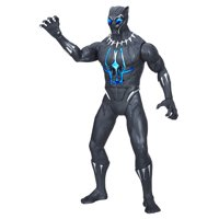 Marvel Black Panther Slash & Strike Black Panther Figure