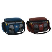 Okeechobee Fats Small Soft-Sided Tackle Bag with 2 Medium Utility Lure Box Storage Containers