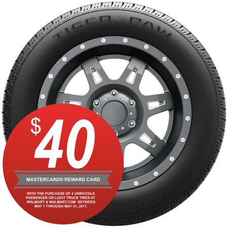Uniroyal Tiger Paw Touring Highway Tire 225 60r16 98h Walmart Com