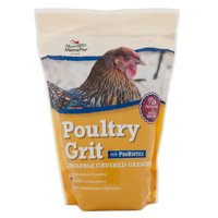 Manna Pro Poultry Grit with Probiotics Chicken Feed, 5 lbs.
