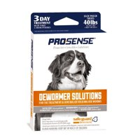 Pro-Sense Dog Dewormer Solutions Safe-Guard 3 Day Treatment, 3 Tablets