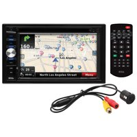 """Boss Audio BVNV9384RC - Double-DIN, DVD Player 6.2"""" Touchscreen Navigation Bluetooth (Backup Camera Included)"""