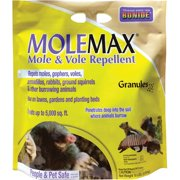 Bonide Mole Max and Vole Repellent Granules, 10-Pound