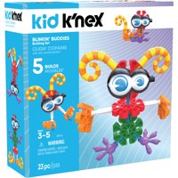 KID K'NEX - Blinkin' Buddies Building Set - 23 Pieces - Ages 3 and Up Preschool Educational Toy