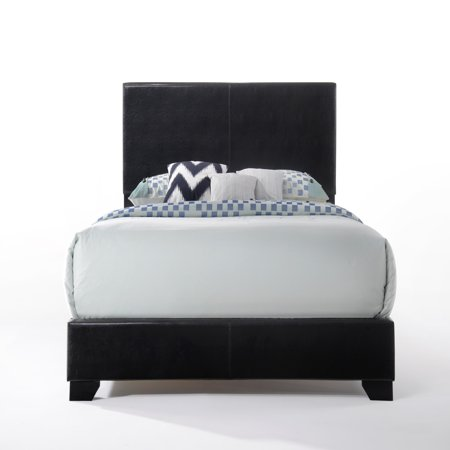 Acme Ireland Full Faux Leather Bed,