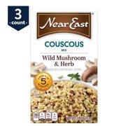 Near East Couscous Mix, Wild Mushroom & Herb, 5.4 oz Box