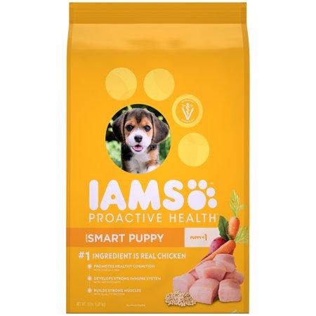 Iams Proactive Health Smart Puppy Dry Dog Food Chicken 15 Lb Bag