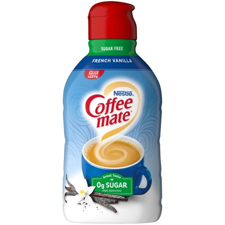 COFFEE MATE Sugar Free French Vanilla Liquid Coffee ...