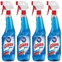 (4 Pack) Great Value Glass Cleaner, 32 oz
