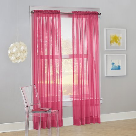 Premier Shears - No. 918 Siren Voile Sheer Rod Pocket Curtain Panel