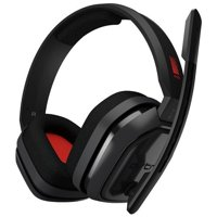 Logitech ASTRO A10 Headset PC Gen1 Grey/Red Lightweight Rugged Design