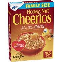 Honey Nut Cheerios Gluten Free Breakfast Cereal, 19.5 oz Box