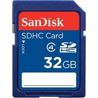 SanDisk 32GB Class 4 SD Card