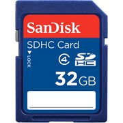 SanDisk 32GB Class 4 SD Card