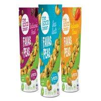 The Good Bean Crispy Favas + Peas, Variety Pack 6ct.