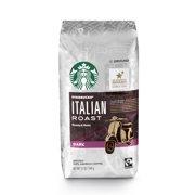 Starbucks Italian Roast Dark Roast Ground Coffee, 12-Ounce Bag