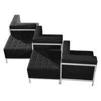 Flash Furniture Hercules Imagination Series 5 Piece Reception Chair Set