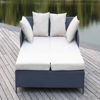 Safavieh August Outdoor Contemporary Daybed with Cushion