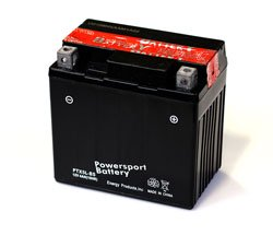 Replacement for POLARIS OUTLAW 90CC ATV BATTERY FOR YEAR 2010 MODEL replacement