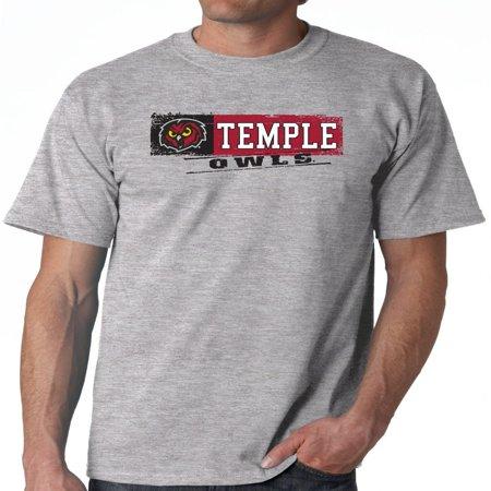 - J2 Sport Temple Owls NCAA Sticker Unisex T-shirt