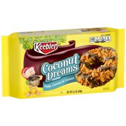 (2 Pack) Keebler Coconut Dreams Cookies, Fudge, Caramel & Coconut, 8.5 Oz