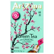 (12 Pack) Arizona Drink Mix, Green Tea with Ginseng and Honey, .7 Oz, 10 Sticks, 1 Count