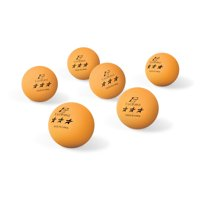Pro-Penn 3-Star Table Tennis Balls, 40mm, Orange, 6 ct