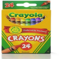 Crayola Classic Color Pack Crayons, Wax, 24 ea (Pack of 6)