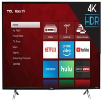 "Refurbished TCL 49"" Class 4K (2160P) Roku Smart LED TV (49S405)"