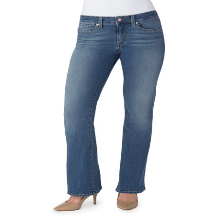 Signature by Levi Strauss & Co. Women's Totally Shaping Bootcut Jeans