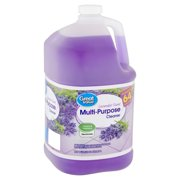 Great Value Lavender Scent Multi-Purpose Cleaner, 1 gal