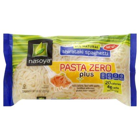 Nasoya Pasta Zero Shirataki Spaghetti 8 Oz Bag Walmart Com