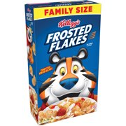(2 Pack) Kellogg's Frosted Flakes Family Size Breakfast Cereal 24 Oz