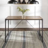 "Mainstays Atmore 48"" Metal and Wood Dining Table"