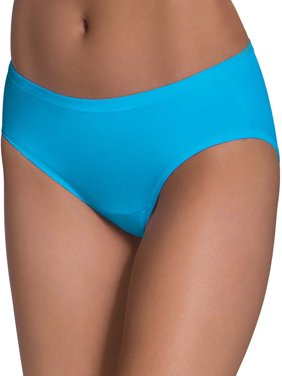Women's Comfort Covered Cotton Hipster Panties, 6 Pack