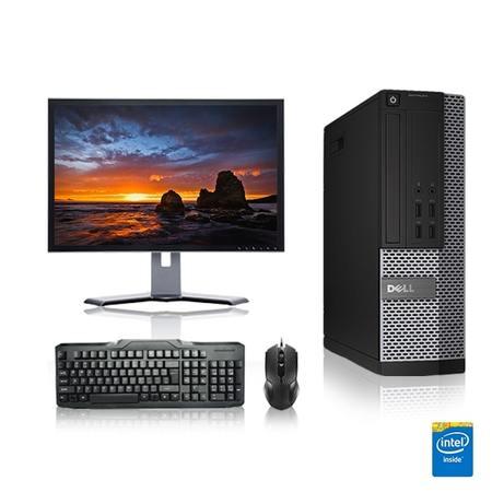 Refurbished - Dell Optiplex Desktop Computer 2.8 GHz Core 2 Quad Tower PC, 6GB, 500GB HDD, Windows 7 x64, 19