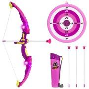 ea56d985c3c Best Choice Products Kids Light-Up Sports Archery Toy Play Set w  3 Light