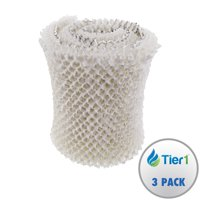 Tier1 MAF1 Comparable 14906 Replacement Humidifier Wick Filter for Emerson Models MA-0950, 1200, 1201 (3-pack)