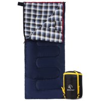 REDCAMP 40 - 60 Degrees Cotton Flannel Sleeping Bag for Adults