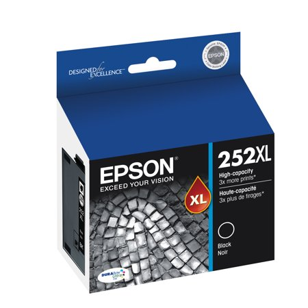 Epson 252XL High-capacity Black Ink Cartridge