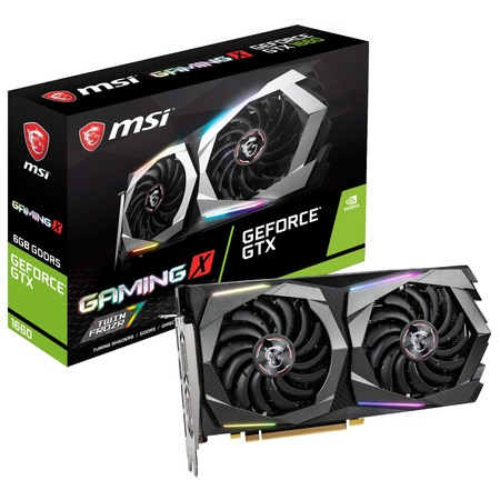 MSI GeForce GTX 1660 GAMING X 6G Graphics Card