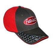 b01b3dabfa2 Peterbilt Trucks Motors Blue   Red Diamond Plated Embroidered Bill Cap