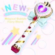 WisToyz Music Bubble Fairy Wand Stick Magic Toy, Light Up Bubble Wand Automatic Maker Machine Toy for Kids Adult Children, Premium Music Bubble Machine